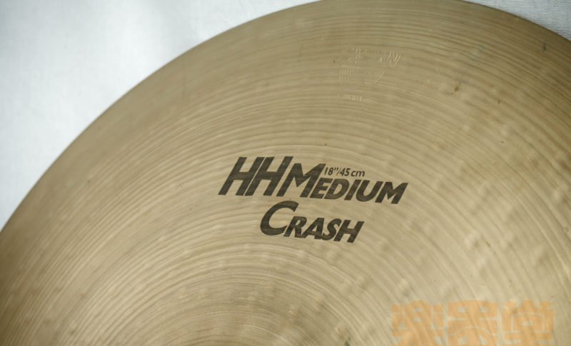 "SABIAN HH Medium Crash 18"" [USED]"